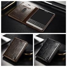 CaseMe Роскошный Кожаный Бумажник Стенд Телефон Чехол Для Blackberry Passport 2 Passport2 Уникальный Manget Функция Cover