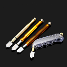 Professional Steel Glass Rhinestone Self-lubricating Oil Feed Tipped Glass Cutter Cutter