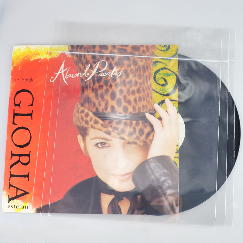 Resealable 12 record LP plastic outer sleeves (50 pcs)