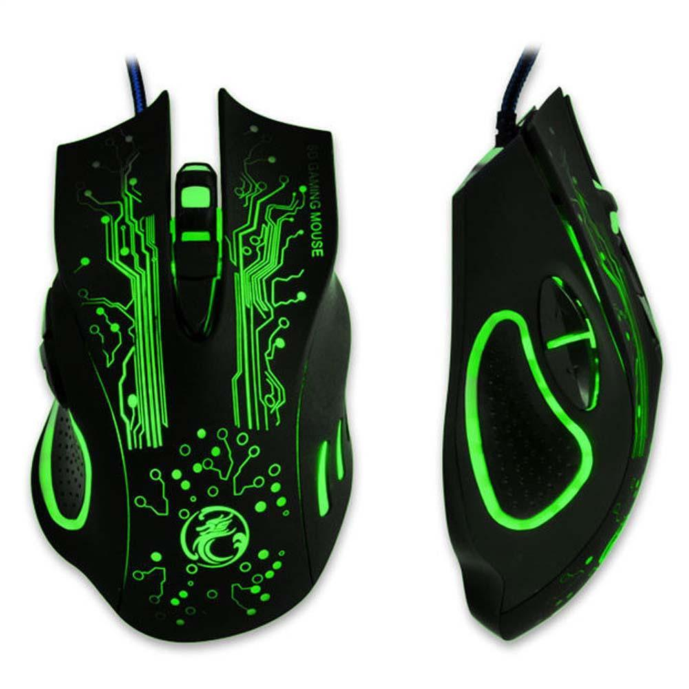 2400DPI LED Optical 6D USB Wired Gaming Game Mouse Gamer Mice For PC Laptop wired keyboard and mouse optical mouse wireless APE
