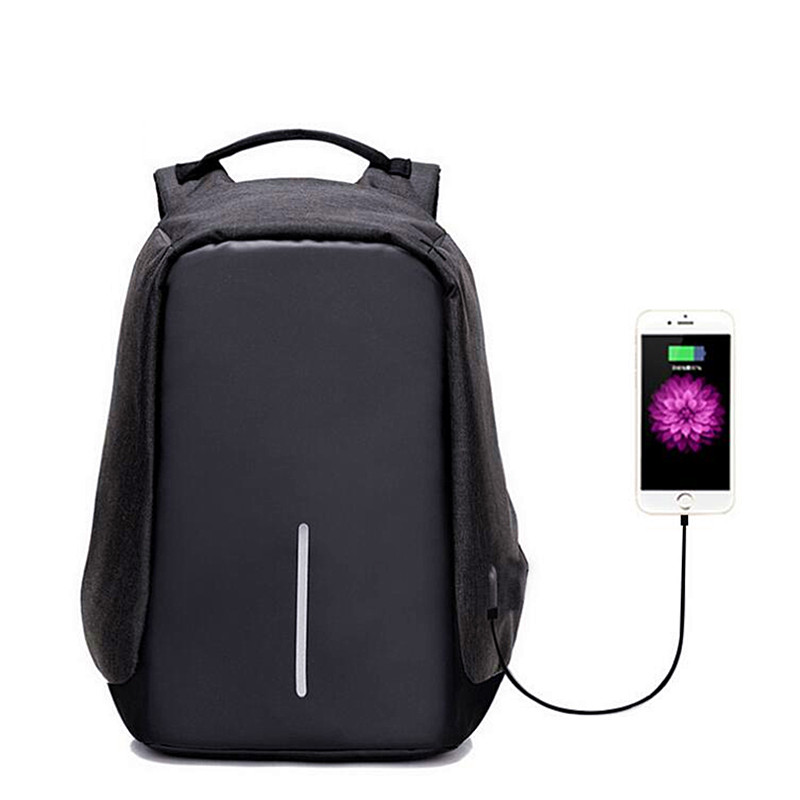Anti Theft Backpack USB Charge Waterproof School Bags Teenage  Laptop Backpacks Men and women Travel Casual Security Bag mochila 8848 backpack women s daypack stylish laptop backpack school bags men anti thief design waterproof travel backpack 132 028 011