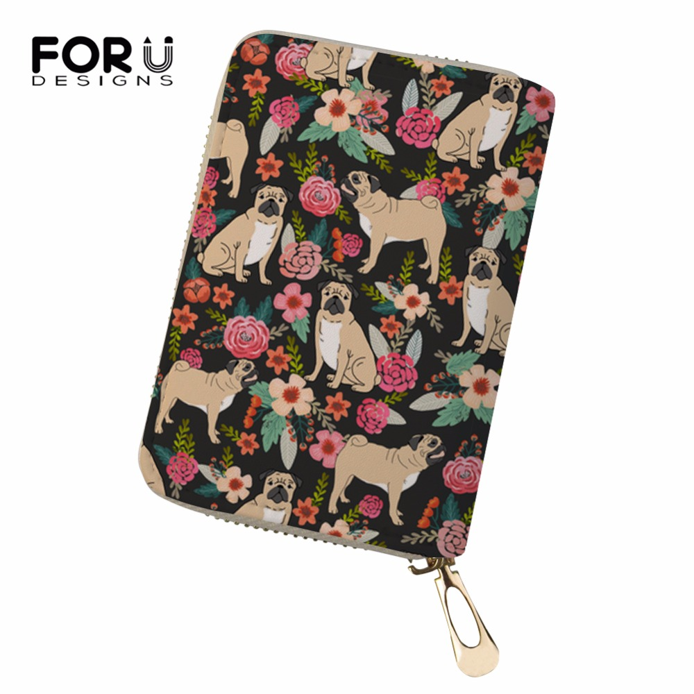 Coin Purses & Holders Luggage & Bags Forudesign Cute Corgis Printed Women Men Credit Id Card Holder Case Business Bank Cards Bag Leather Small Purse Carteira Mujer