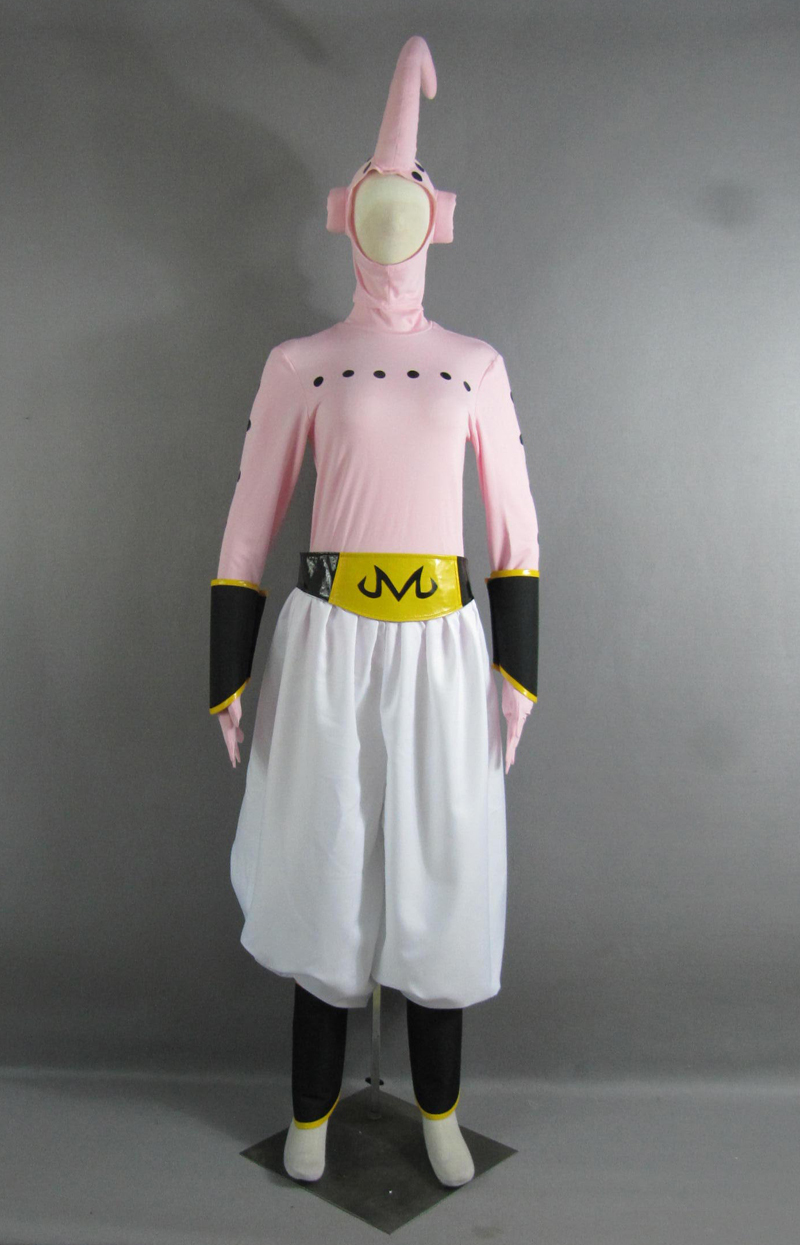 Free Shipping Dragon BallZ Majin Boo the evil Boo Anime Cosplay Costume