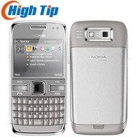 Nokia разблокированный оригинальный мобильный телефон E72 с 5.0MP камеры gps WI FI клавиатурой qwerty Восстановленное Бесплатная доставка гарантия 1 го