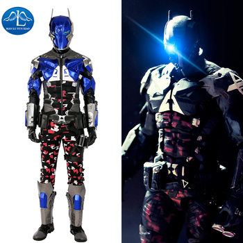 MANLUYUNXIAO Hot Game Batman Costume Arkham Knight Cosplay Costume Halloween Costumes For Men Arkham Knight Costume For Men фото