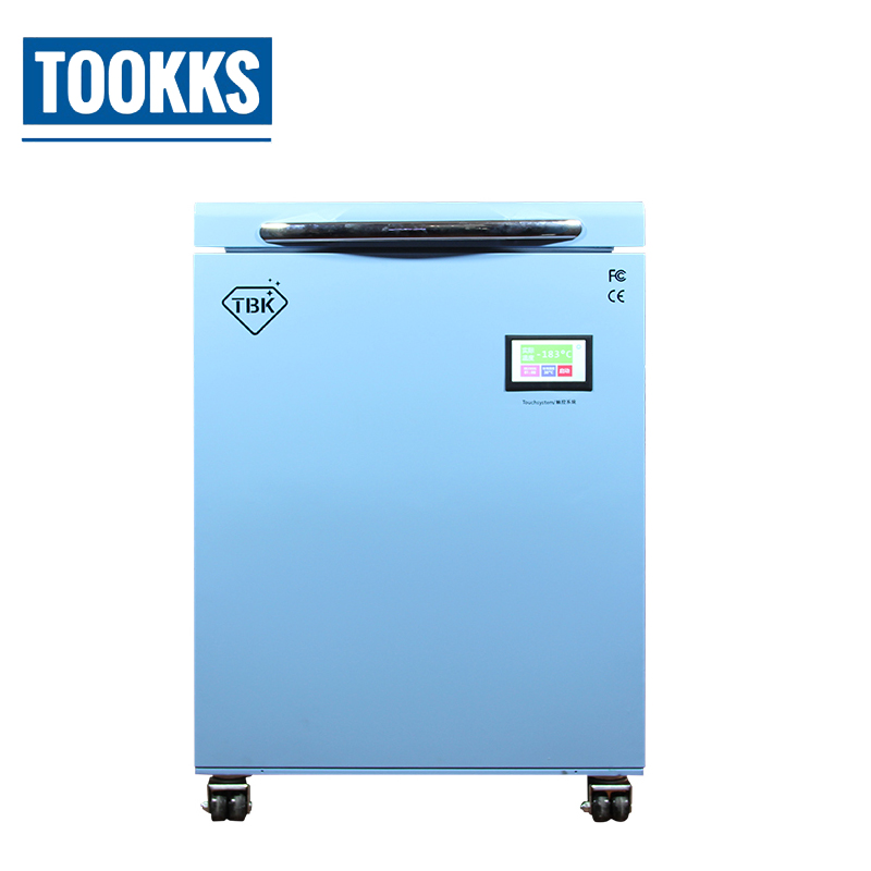Professional TBK 588 Freezing Machine 185C LCD Touch Screen Separating Machine for Mobile Phone Refublish