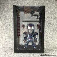 מארוול איירון מן 3 פעולה איור superhero איש ברזל כחול juguetes pvc פעולה איור צעצועי brinquedos ילדים דגם אסיפה בובה