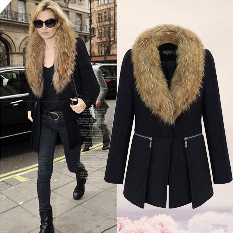 Aliexpress.com : Buy 2015 Autumn/winter new design fur collar ...
