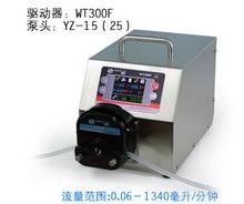 WT300F YZ25 Большой Поток Интеллектуальный Дозирования Перистальтический Дозирования Заполнения Насоса Лаборатория Промышленность Насос 0.16-990 мл/мин.
