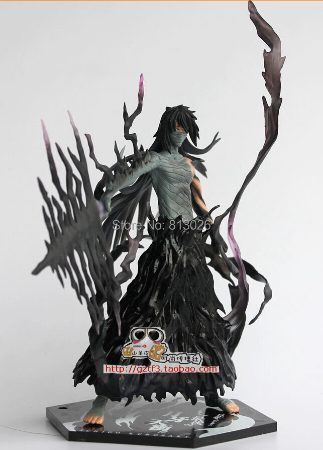 17.5cm Bleach Kurosaki Ichigo Action Figure PVC Collection figures toys for christmas gift brinquedos with Retail box