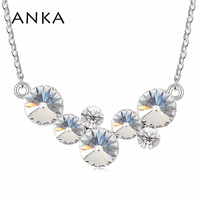 Taffeta Necklace Made With Swarovski Elements 97833
