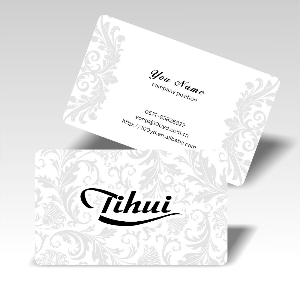 200pcs/lot Customized Business card Name card Full Color Printing ...