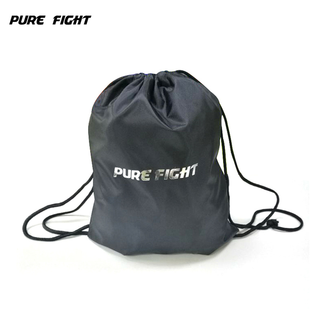 Simple Outdoor Drawstring Backpack Solid Tote Sport Bag Ultralight Yoga Fitness Gym Sports Boxing Gloves