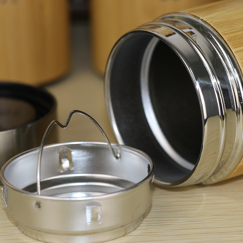 Bamboo travel Thermos Cup 1