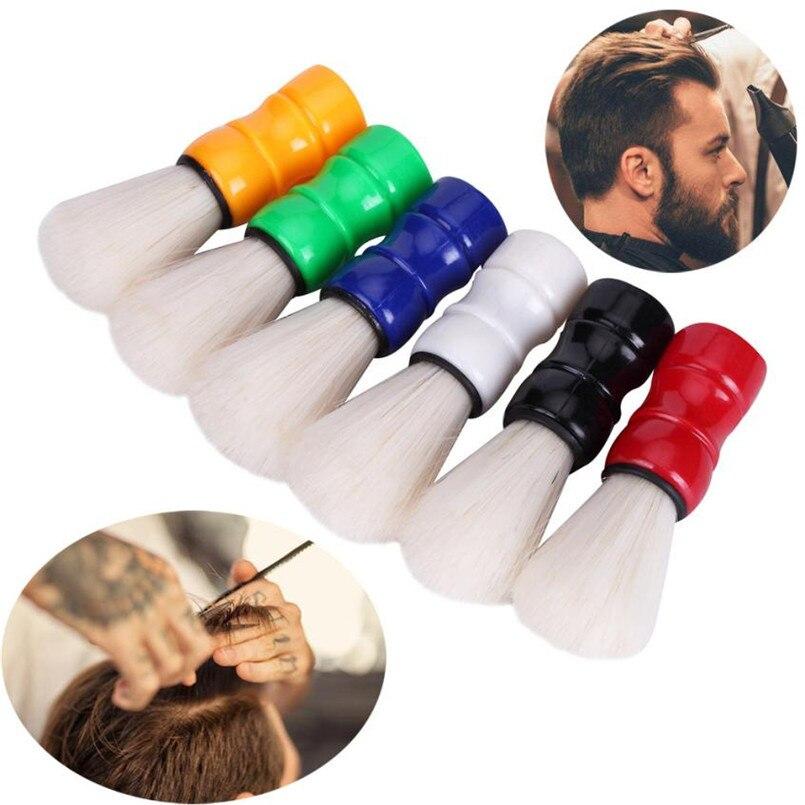 NEW 1PC Hair Cutting Hairdressing Salon Neck Duster Brush For Barber Hairdresser  X8212 2