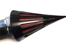 Aftermarket free shipping motorcycle parts Air Cleaner Kits filter for Kawasaki  Vulcan 1500 1600 Classic 2000-2012  Black