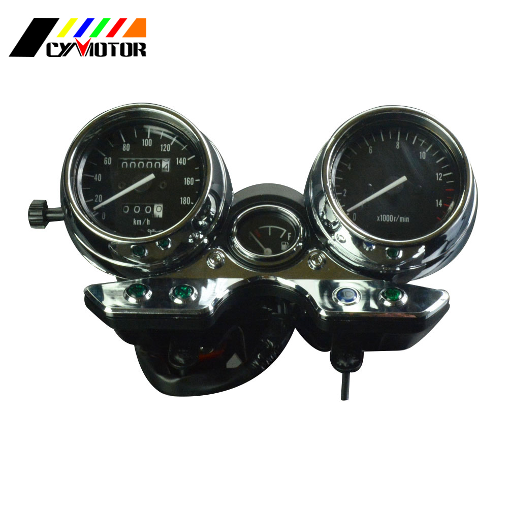 Motorcycle Gauges Cluster Speedometer Odometer Tachometer For SUZUKI GK7BA GSF400 Inazuma GSF 400 цены онлайн