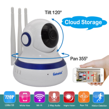 Wireless Security Surveillance Video Cloud Storage HD 720P Wifi IP Camera Baby Monitor P2P Pan/Tilt 2-Way Audio IR Night Vision