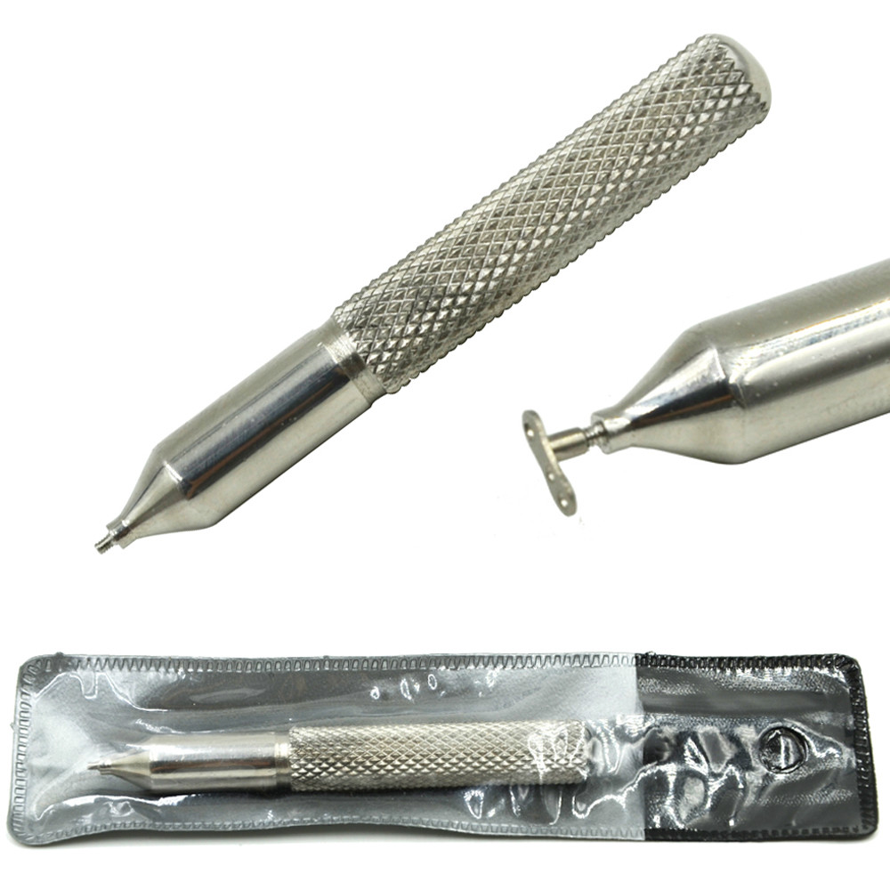 Profesjonelt Premier Steel Nurl Grip Dermal Anker Insertion Taper Tool for 16g internt gjengede kroppspiercing smykker