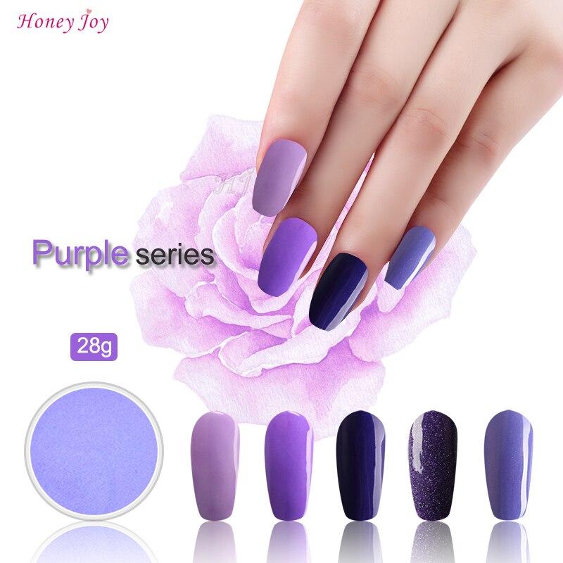 Blue Purple Colors 3pcs 28g/Box Dipping Powder Without ...