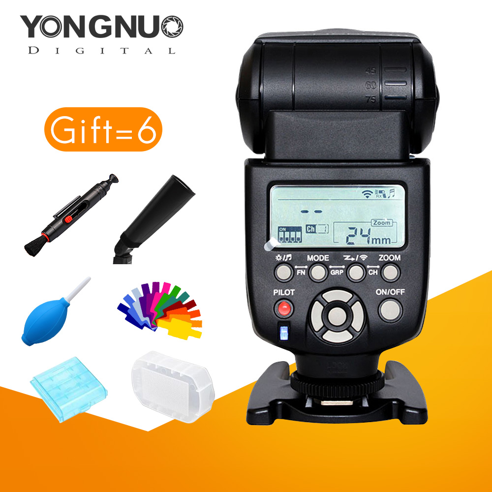yongnuo YN560-III Speedlite Wireless Flash 5600k lighting Flashlight For Canon Nikon Pentax Panasonic Olympus DSLR Camera yongnuo yn 510ex yn510ex off camera wireless ttl flash speedlite for canon nikon pentax olympus pana sonic dslr cameras