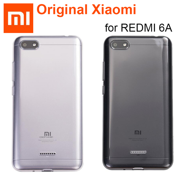 best sneakers 9ecf0 cc993 US $6.9 21% OFF|Original Xiaomi Redmi 6A Case Luxury TPU Soft Silicone  Phone Cases 6 A Xiaomi Redmi 6A Back Cover Natural clear shockproof  shell-in ...