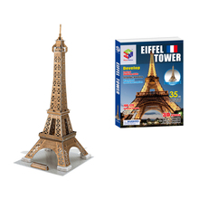 47cm 3D Puzzles Eiffel Tower Builing Mode Toys Brain Teaser Learning Educational Games Children Jigsaw Toys for Christmas Gift