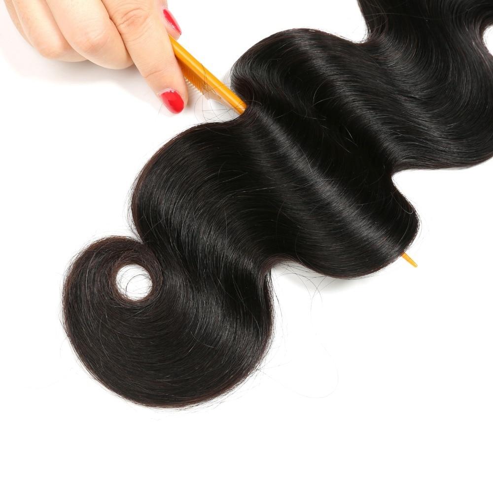 Wonder გოგონა ბრაზილიის - ადამიანის თმის (შავი) - ფოტო 6