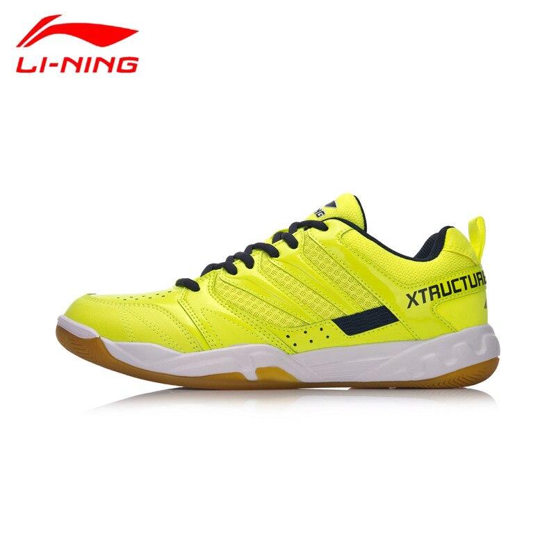 Li-Ning Professional Badminton Shoes Anti-Slippery Comfortable Sports Sneakers AYTN025 Hard-Wearing Z036 цена