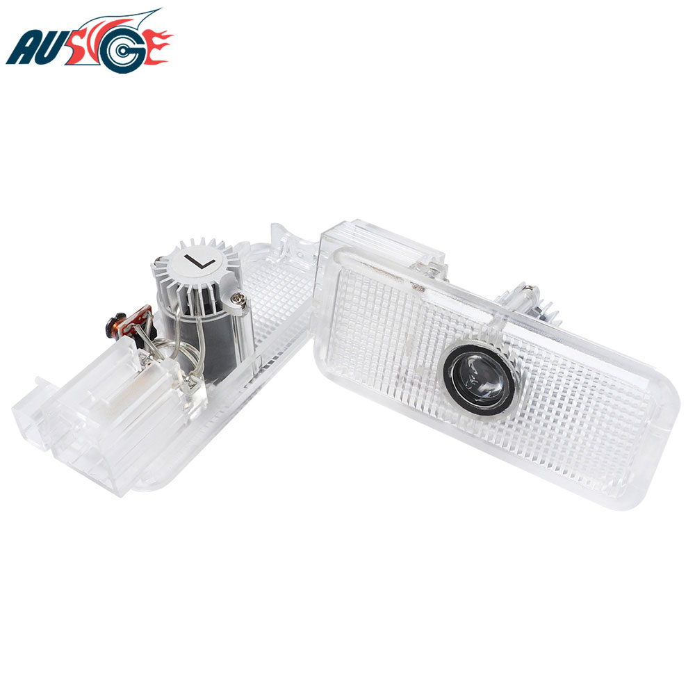 Car LED Door Welcome Projector Laser Logo Lights For <font><b>PEUGEOT</b></font> 307 508 408 RCZ 206 306 207 1007 406 5008 <font><b>607</b></font> 806 807 Accessories image
