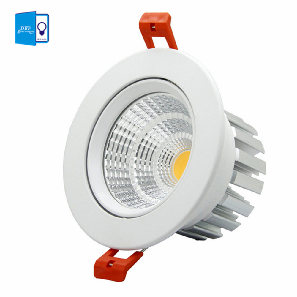 high quality epistar led cob recessed downlight dimmable 6w 9w 12w 20w led spot lamp dimming. Black Bedroom Furniture Sets. Home Design Ideas