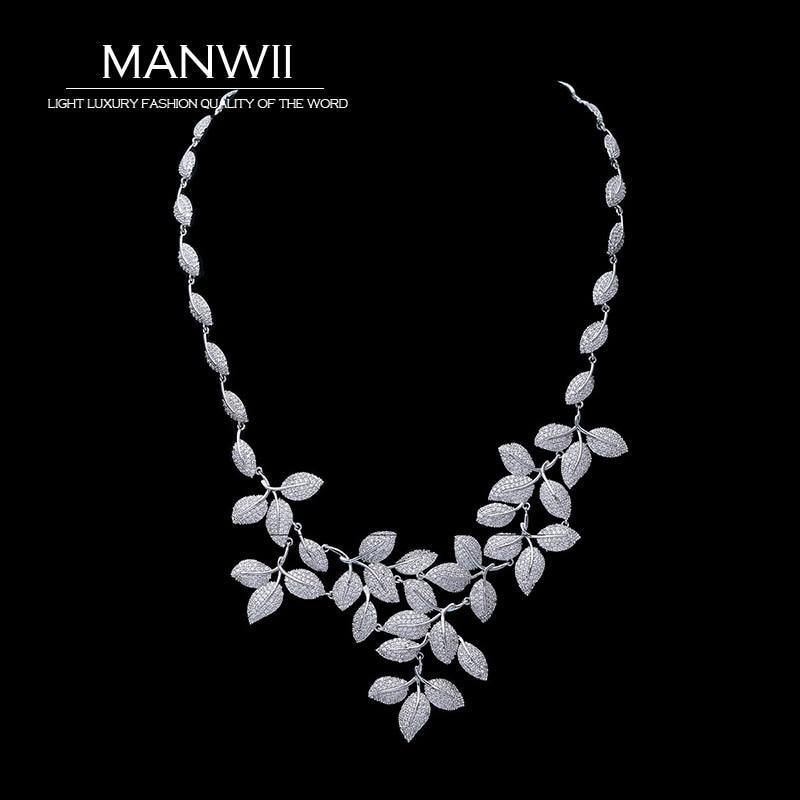 Здесь продается  MANWII AAA zircon necklaces fashion vintage bridal accessories wedding jewelry for women statement necklace women TA2014  Ювелирные изделия и часы