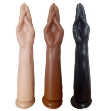 Realistic Sextoys Dildos Suction Cup Penis Erotic Sex Shop Toys Giant Phalos Adults for Woman Dragon Big Silicone Fist Dildo(China)