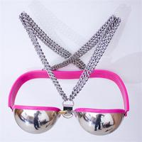 sex tools for sale new t stainless steel sexy female chastity bra woman bra bdsm bondage harness,sextoys adults games for woman.