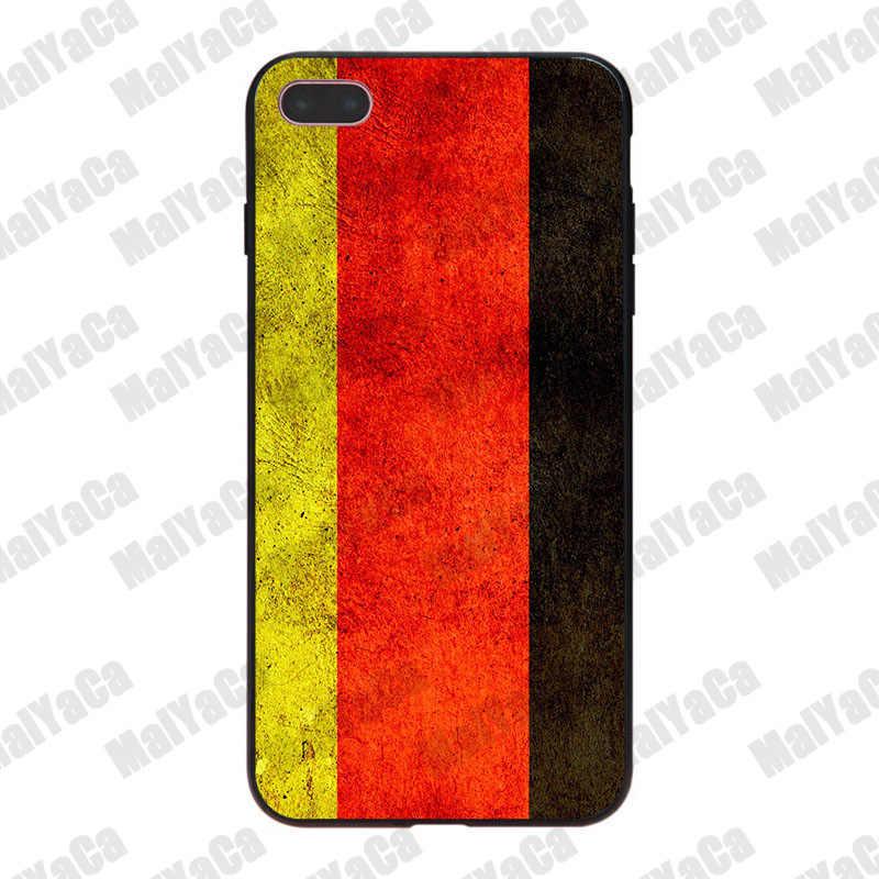 MaiYaCa Duitse vlag Nieuwste Super Leuke soft Phone Cases voor iPhone 8 8plus 7 7plus 6 6S plus X XS XR XSMax 5 5S SE Coque Shell