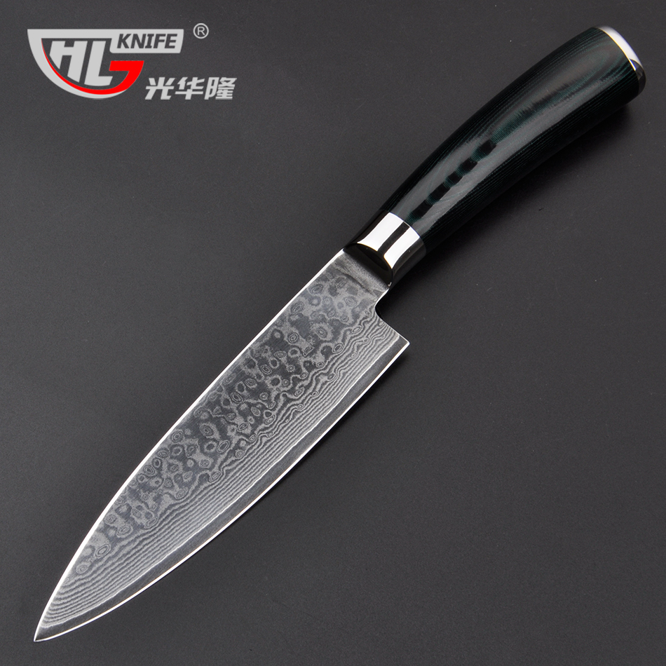 Damasco chef coltelli da 6 pollice carne Congelata taglierina VG10 ...
