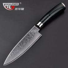 Damascus chef font b knives b font 6 inch Frozen meat cutter VG10 font b knife