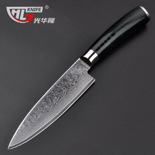 Damascus chef knives 6 inch Frozen meat cutter VG10 knife kitchen knife products for the kitchen