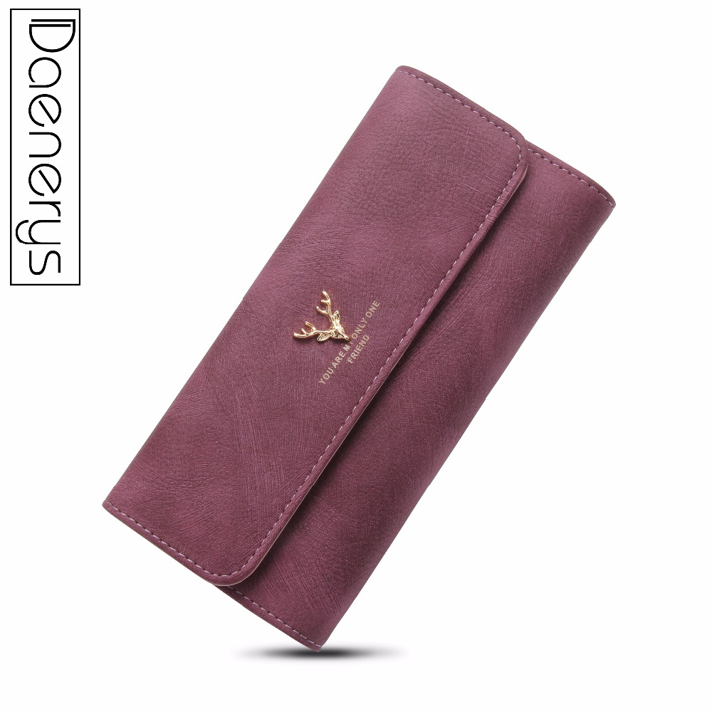 Daenerys Womens Wallets And Purses Long Leather Hasp Ladies