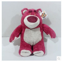 TOY STORY 3 Lotso Plush Stuffed Doll High Quality Strawberry Bear Plush Toy 42cm