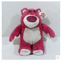 TOY STORY 3 Lotso Plush Stuffed Doll High Quality Strawberry Bear Plush Toy 42cm