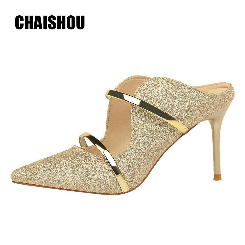 CHAISHOU shoes Women 2019 New Summer Fashion sexy High-heeled sandals slippers size 35-40 CS-306CHAISHOU shoes Women 2019 New Summer Fashion sexy High-heeled sandals slippers size 35-40 CS-306