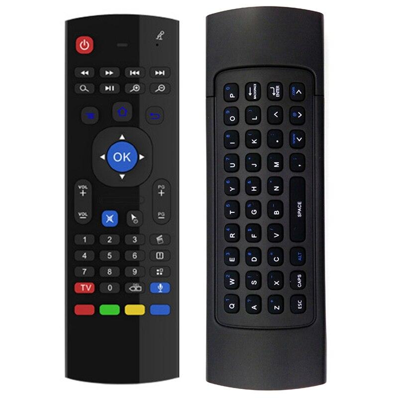 Новый Fly Air Мышь Беспроводной игры клавиатура Android-пульт дистанционного управления Перезаряжаемые 2.4 ГГц клавиатура для Умные телевизоры Ми... ...