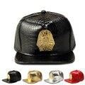 2016 High Quality Brand Men PU Hip Hop  Tyga Last Kings Hat Baseball  Caps Casual Snapback Golden/Silver/Black/Red Cap Gifts