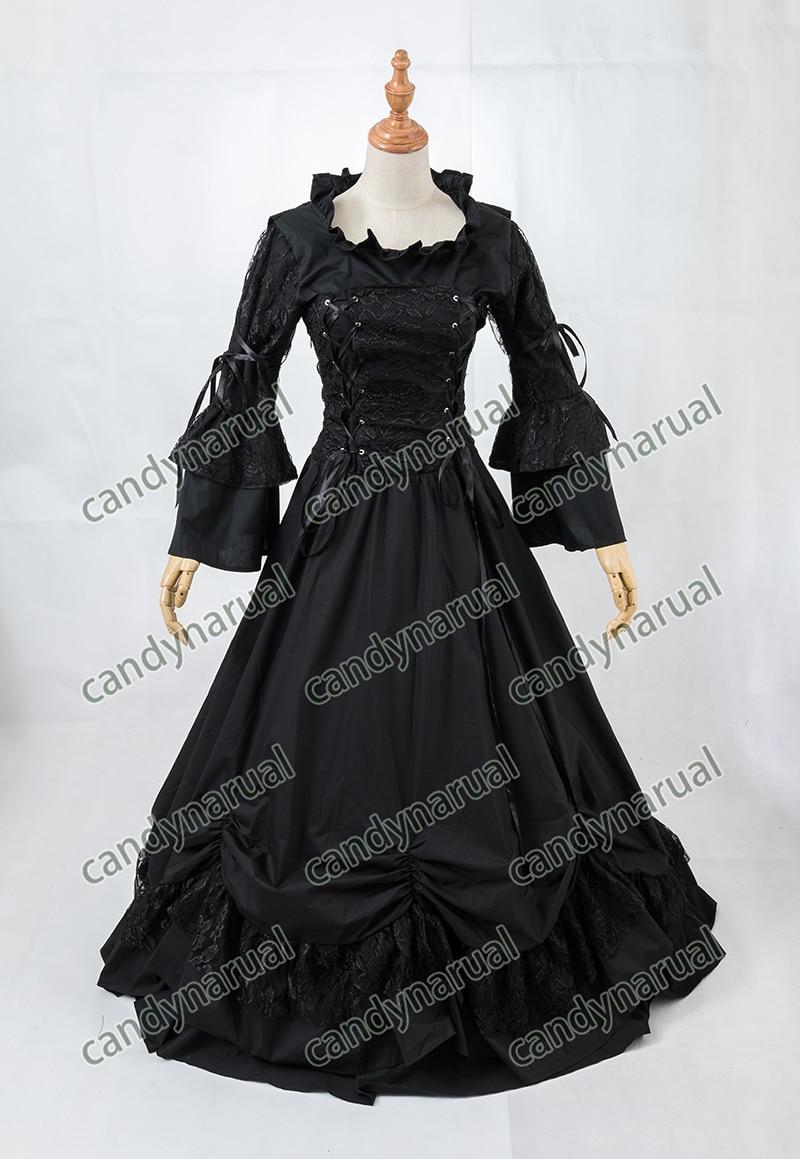 ZNCJ Gothic Lolita Dress Anime Halloween Party Ball Gown Vintage ...