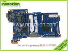 NOKOTION original mother board for toshiba R830 R835 FAL3SY3 HD4000 i3-2370M DDR3 Full tested(China)