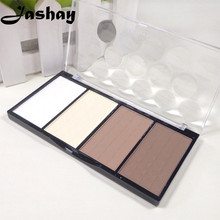 Jashay Professional 4 Colors Concealer bronze Camouflage Makeup Neutral Palette Primer Contour Facial Shadow Highlighter V Face
