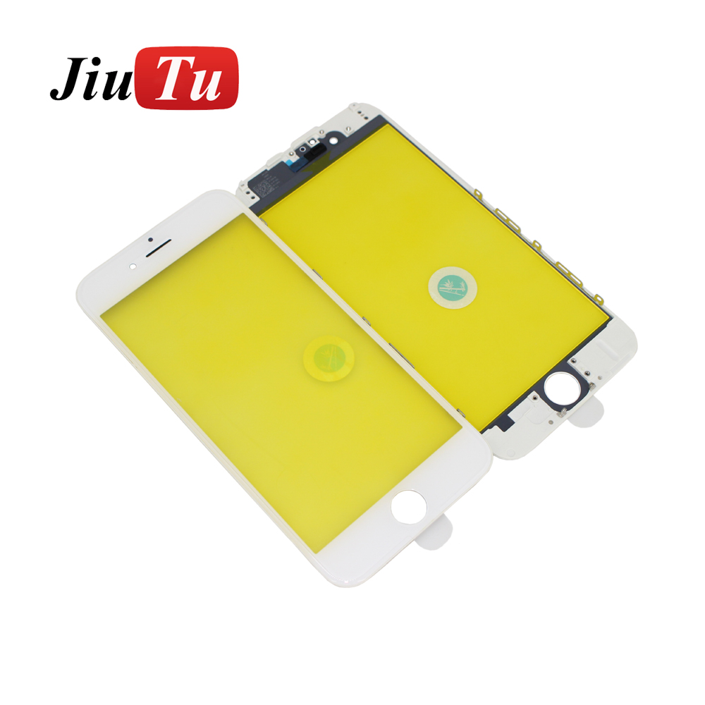 Jiutu 10pcslot Glass With Bezel Frame Cold Press For iPhone 6G6 Plus 6S6S Plus (4)