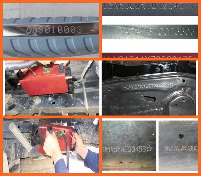 Macchina per marcatura a punti portatile pneumatica economica, - Attrezzature per la lavorazione del legno - Fotografia 6