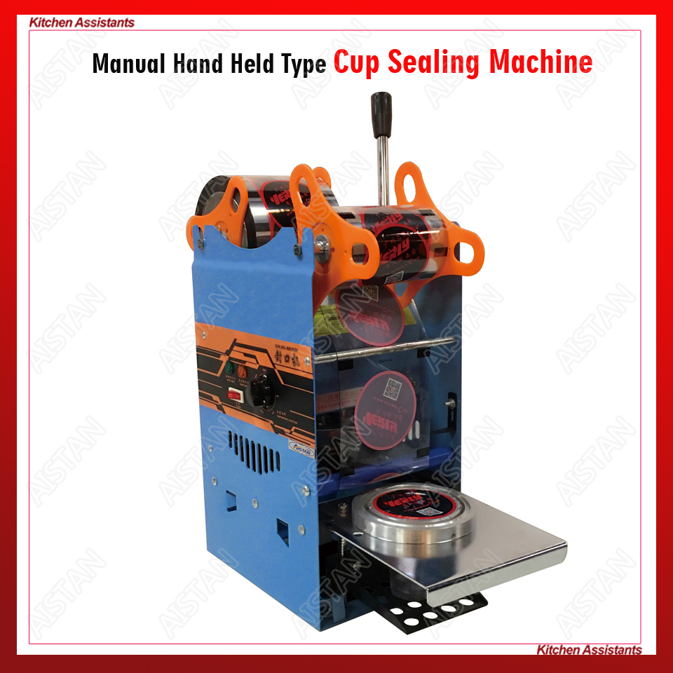 WY802F Hand Held plastic beverage bubble tea cup sealing machine for cup sealing firm type Heavy Duty 220V 110VWY802F Hand Held plastic beverage bubble tea cup sealing machine for cup sealing firm type Heavy Duty 220V 110V
